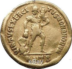 Julian II L'apostat Philosophe 361ad Antique Pièce En Or Solidus Ngc Vf