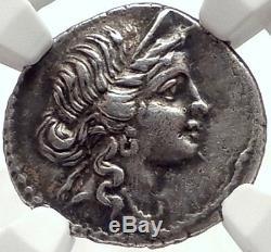 Julius Caesar 48bc Authentique Monnaie Romaine Ancienne En Argent Certifié Venus Certifié Ngc Ch Xf