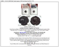 Lepidus Julius Caesar Allié Triumvir Auguste 43bc Argent Monnaie Romaine Ngc I71703