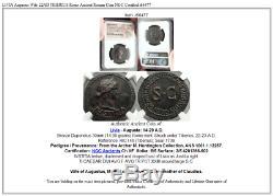 Livia Augustus Épouse 22ad Tiberius Rome, Monnaie Romaine Antique Ngc Certifié I66477