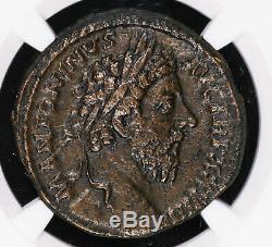 Marc Aurèle 161 180 Ad Sestertius Ancien Empire Romain Pièce De Monnaie Victoire Mer