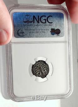 Marcus Ambibulus Auguste Jérusalem Antique 10ad Biblique Romaine Monnaie Ngc I70947