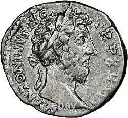 Marcus Aurelius Ngc Ch Vf Roman Coins, Ad 161-180. L'ar Denarius. A830