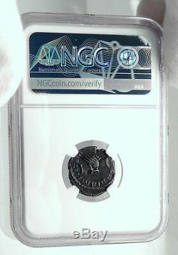 Marius Très Rare Gallic Ancien Empire Romain Cologne Monnaies Shake Hands Ngc I78894