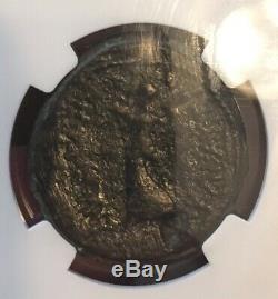 Mark Antony & Octavian, Ngc Graded. Macédoine, 37 B. C, 29mm, Ancienne Pièce De Monnaie Romaine