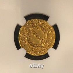 Nero, 54-68 Apr. J.-c. Empire Romain Av Aureus Av Ex Sc En Pièce De Monnaie En Guirlande De Chêne