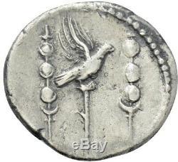 Nero (ad 54-68) Roman Ar Denier Pièce Normes Légionnaires Ric 68 Ngc Certifié