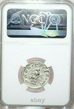 Ngc Au Roman Coins Herennia Etruscilla, J.-c. 249-253. Ar Double-denarius. Max/022