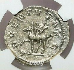 Ngc Au Roman Coins Trajan Decius, J.-c. 249-251. Ar Double-denarius. Max/024