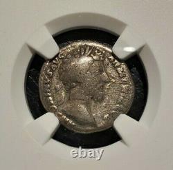 Ngc Authenticated Roman Empire Marcus Aurelius Denarius 161-180 Ce Pièce Détaillée