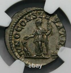 Ngc Ch Au Julia Mamaea Denarius Mère Et Régente De S Alexander Roman Silver Coin