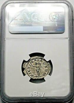 Ngc Ch Au. Maximinus I. Denarius Exquis. Pièce D'argent Romaine Antique