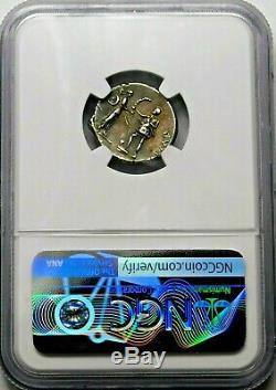 Ngc Ch Xf 5 / 5-4 / 5 Pompey Jr Exquis Scarce Denier République Romaine Silver Coin