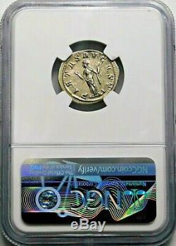 Ngc Ch Xf. Gordien Iii. Superbe Denier, Frappé Ad 241. Argent Roman Coin