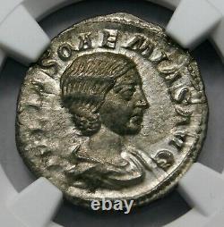 Ngc Ch Xf Julia Soaemias Superb Denarius Mère D'elagabalus Roman Silver Coin