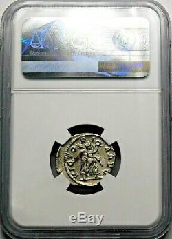 Ngc Ch Xf. Maximinus I. Exquis Denier. Rome Antique Pièce D'argent
