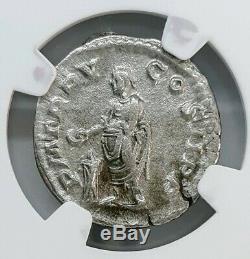Ngc Vf. Severus Alexander. Empire Romain Ad 222-235. Denier D'argent Monnaie Ancienne