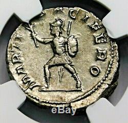 Ngc Xf. Gordien Iii. Double-denier Superbe. Rome Antique Pièce D'argent