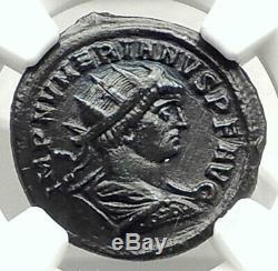 Numérien Authentique Ancien 283ad Originale Roman Coin Providentia Ngc I76323