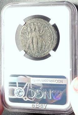 Otacilia Severa 244ad Hekate Phrygie Romaine Monnaie Laodiceia Et Lycum Ngc I68730