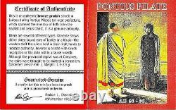 Ponce Pilate Bronze Prutah Pièce Sous L'empereur Tibère Ngc Certifié, Avec Boîte