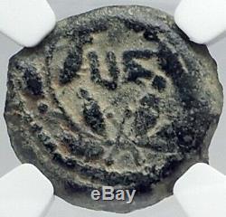 Ponce Pilate Tibère Jérusalem Jésus-christ Crucifixion Romaine Monnaie Ngc I82212