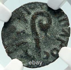 Pontius Pilate Tiberius Jérusalem Jésus Christ Crucifixion Romaine Coin Ngc I84277