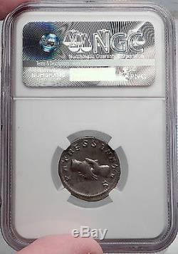 Pupienus 238a Mains Jointes Authentique Antique Romaine Argent Monnaie Ngc Certifié Xf