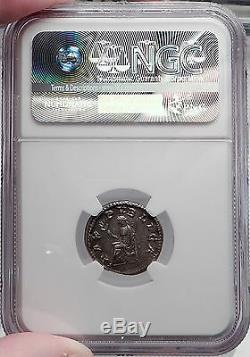Pupienus Authentique Monnaie Romaine Ancienne En Argent Certifié Ngc Choice Xf Rare