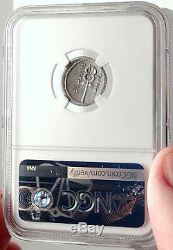 République Romaine 67bc Rome Antique Silver Coin Bonus Eventus Caduceus Ngc I69312