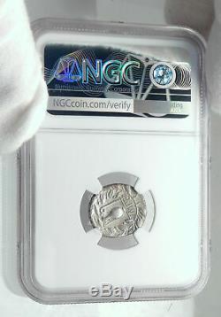 République Romaine 81bc Imperator Generale Dictator Sulla Argent Monnaie Ngc I78538