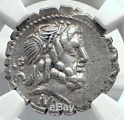 République Romaine Antique 83bc Argent Monnaie Marius Supporter Vs Sulla Ngc I77280