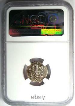 République Romaine C. Cur. Trigeminus Ar Denarius Coin 142 Bc Certifié Ngc Vf