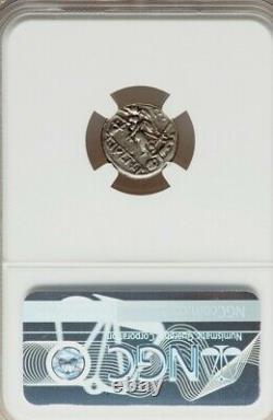 République Romaine Jules César Denier 103bc Ngc Ch Vf Ancient Silver Coin