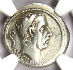 République Romaine L. Mar. Philippus Ar Denarius Coin 57 Av. J.-c. Certifié Ngc Choice Vf