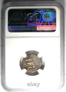 République Romaine M. Opeimius Ar Denarius Coin 131 Bc Certifié Ngc Choice Vf