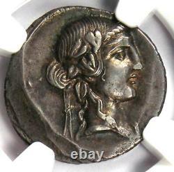 République Romaine Q. Titius Ar Denarius Pegasus Coin 90 Bc Certifié Ngc Xf (ef)