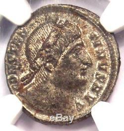 Romain Constantin I Ae3 Bi Nummus Coin (307-337 Ad) Ngc Ms (unc Étoile)