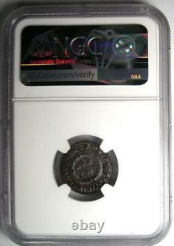 Romain Constantin I Bi Nummus Ae3 Coin (307-337 Ad) Certifié Ngc Ms (unc)