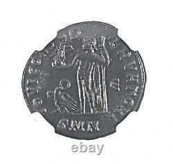Romain Constantin I, Le Grand Coin Ngc Certifié Xf En Bois Boîte & Carte Récit