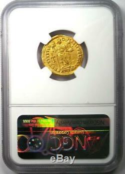 Romain D'occident Valentinien I Av Solidus Gold Coin 364-375 Ad Ngc Choix Vf