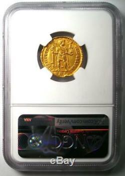 Romain D'occident Valentinien I Av Solidus Gold Coin 364-375 Ad Ngc Ms (unc)