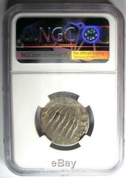 Romain Trajan Ar Cistophorus Silver Coin 98-117 Certifié Ngc Fin