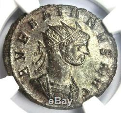 Roman Aurelian Bi Aurelianianus Coin (270-275 Ad) Certifié Ngc Ms (unc)