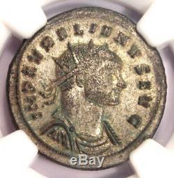 Roman Aurelian Bi Double-denier Coin (270-275 Ad) Certifié Ngc Ms (unc)