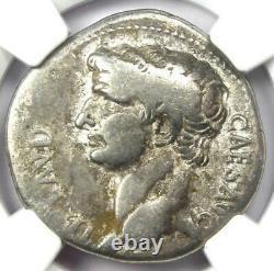 Roman Claudius Ar Cistophorus Coin 41-54 Ad Certifié Ngc Choix Amende