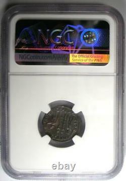 Roman Constantius II Bi Nummus Coin (337-361 Ad) Certifié Ngc Ms (unc)