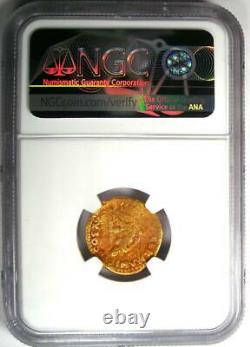 Roman Domitian Gold Av Aureus Germania Pièce De Deuil 81-96 Ad Ngc Vg