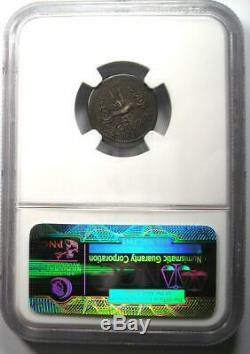 Roman Marc Antony Ar Denarius Argent Galley Monnaie 30 Bc Ngc Vf (very Fine)