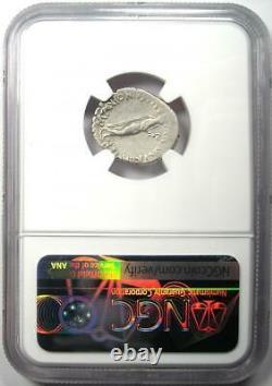 Roman Marc Antony Ar Denarius Silver Coin 38 Bc Certifié Ngc Vf (très Beau)